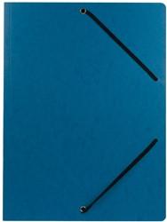 Class'ex elastomap, ft 23,5 x 31 cm (voor ft A4), blauw