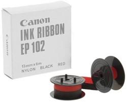 Canon Nylontape zwart-rood EP102 -  4202A002, doos van 12 stuks