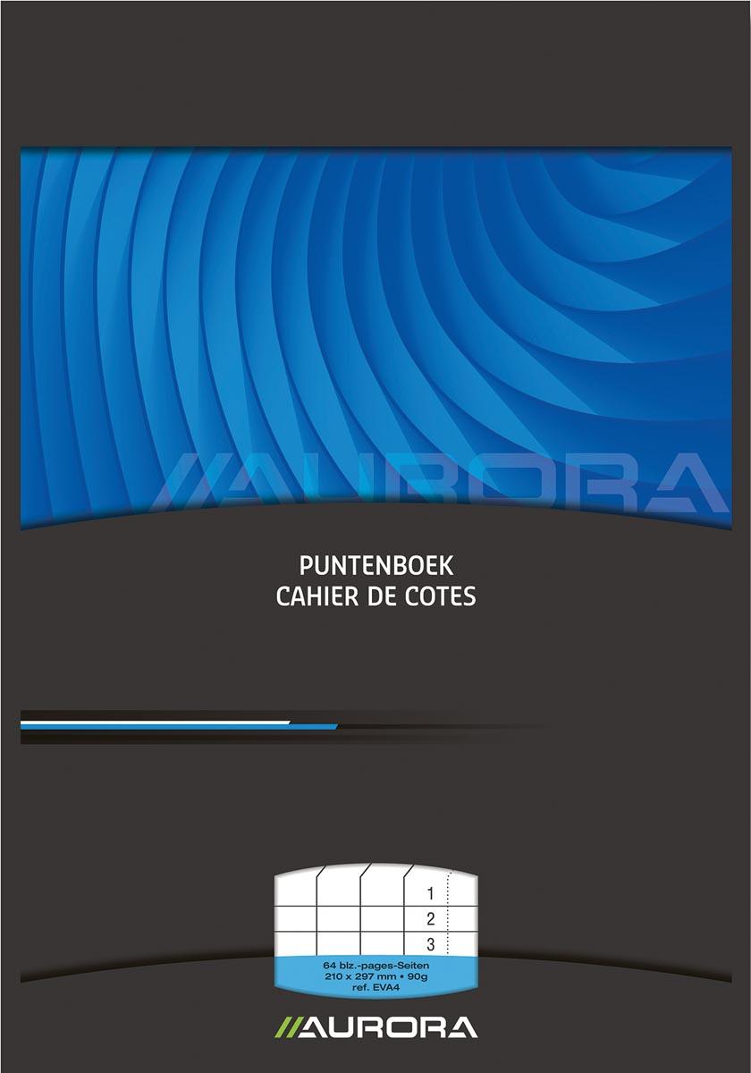 Afbeelding van Aurora puntenboek ft A4