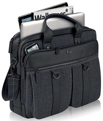 Solo laptoptas Executive Bradford voor 15,6 inch laptops, zwart
