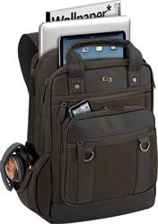 Solo laptoprugzak Executive Bradford voor 15,6 inch laptops, olijfkleurig