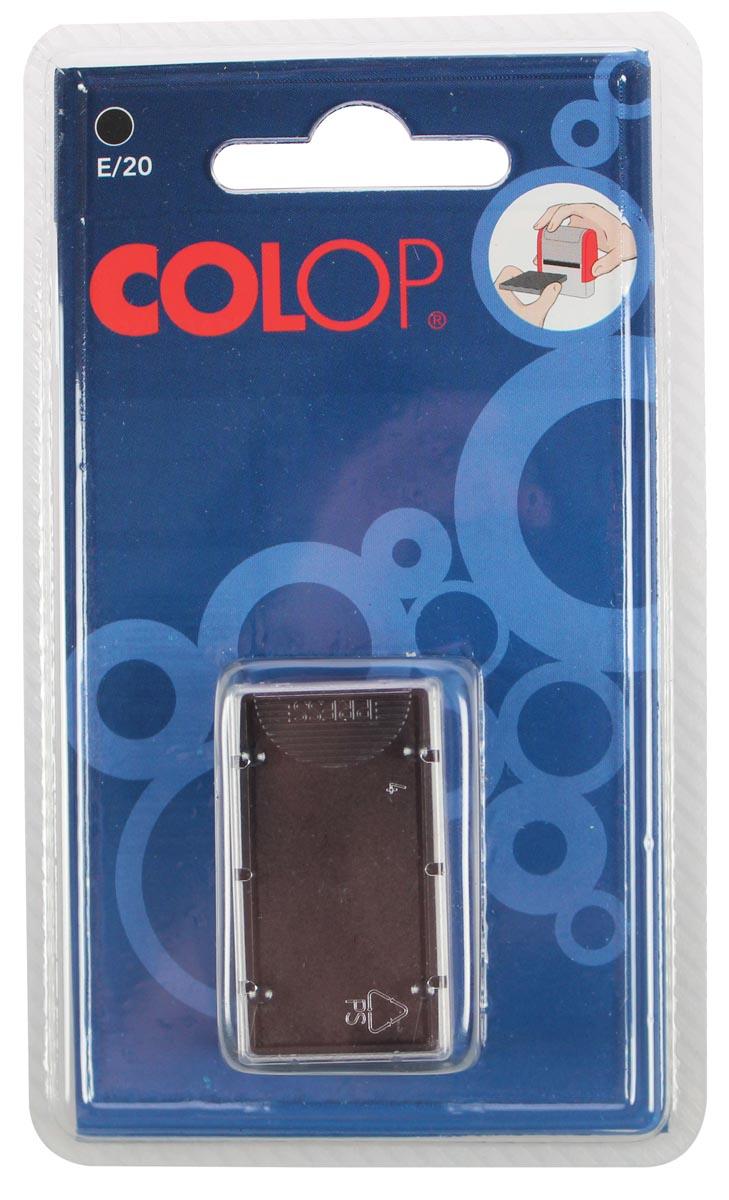 Colop stempelkussen zwart, voor stempel P20, P20N, 20/1, blister van 2 stuks