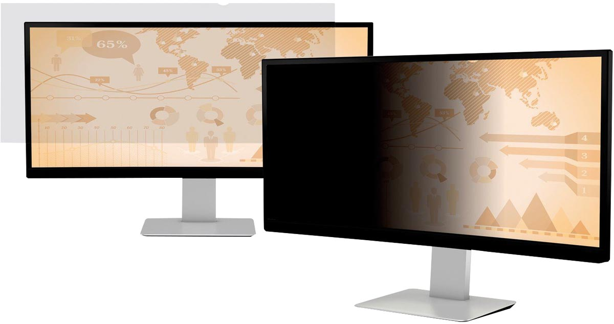 3M privacy filter voor breedbeeldscherm voor desktop 29 inch 21:9