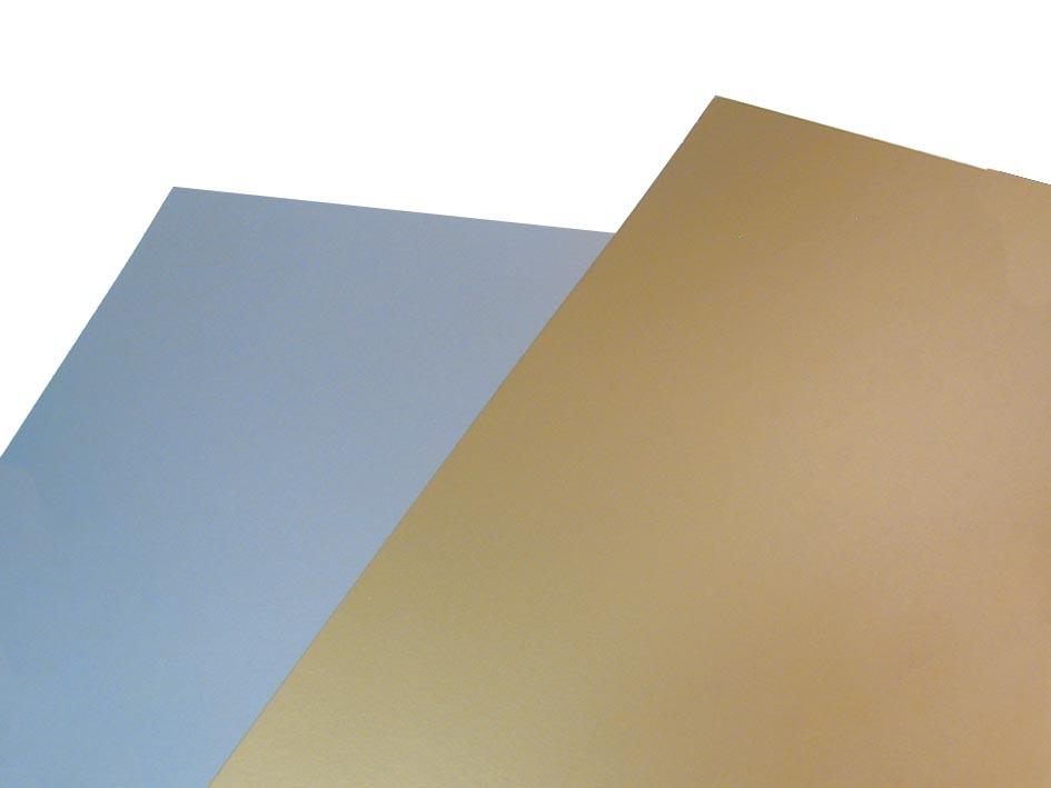 Folia fotokarton zilver mat, pak met 10 vel