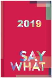 Aurora Say Why agenda Folio FA215A, ft 14 x 21 cm, 4 motieven, 2019