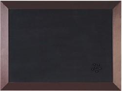 Bisilque Notitiebord Kamashi met bruin kader