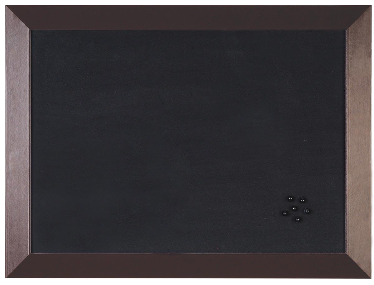 Bi-Office Notitiebord Kamashi Bruin kader 60 x 45 cm