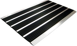 Floortex deurmat Doortex Alumat, ft 30 x 60 cm, voor buiten