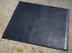 Cleartex industriële deurmat Scrapemat, zowel voor binnen als buiten, ft 85 x 75 cm