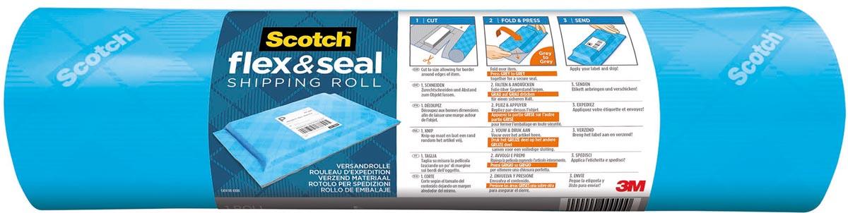 Scotch verpakkingsrol Flex & Seal, ft 38 cm x 3 m