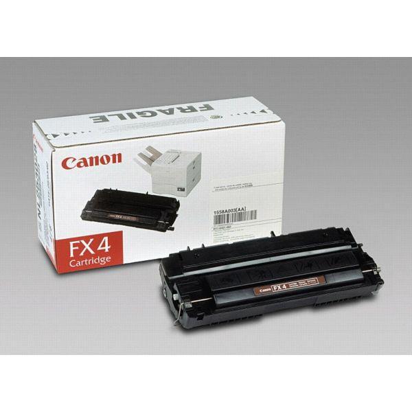 Canon toner FX4, 4.000 pagina's, OEM 1558A003, zwart