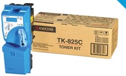 Kyocera Toner cyaan TK825C - 7000 pagina's - 1T02FZCEU0