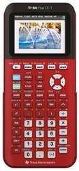 Texas grafische rekenmachine TI-84 Plus CE-T, rood