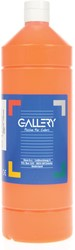 Gallery plakkaatverf, flacon van 1 l, oranje