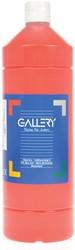 Gallery plakkaatverf, flacon van 1 l, lichtrood