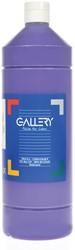 Gallery plakkaatverf, flacon van 1 l, paars