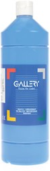 Gallery plakkaatverf, flacon van 1 l, blauw