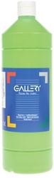 Gallery plakkaatverf, flacon van 1 l, lichtgroen