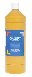 Gallery plakkaatverf, flacon van 1 l, oker