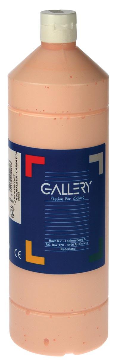 Gallery plakkaatverf, flacon van 1 l, huidskleur