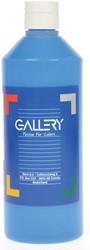 Gallery plakkaatverf, flacon van 500 ml, blauw
