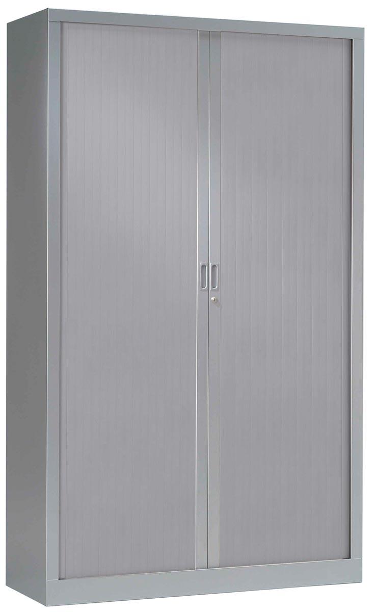 Roldeurkast aluminium, hoogte 198 cm