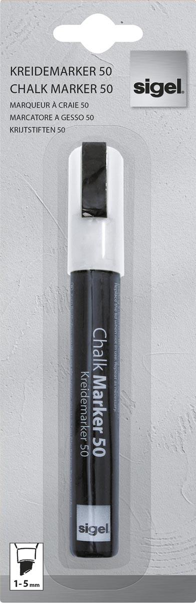 Sigel krijtstift 50 wit