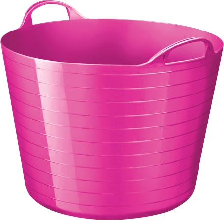 Strata by CEP soepele mand 40 liter, roze