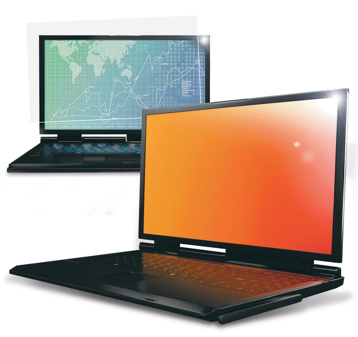 3M Gold privacy filter voor laptops van 17 inch, 16:10