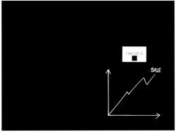 Naga Magnetisch glasbord, zwart, ft 60 x 80 cm