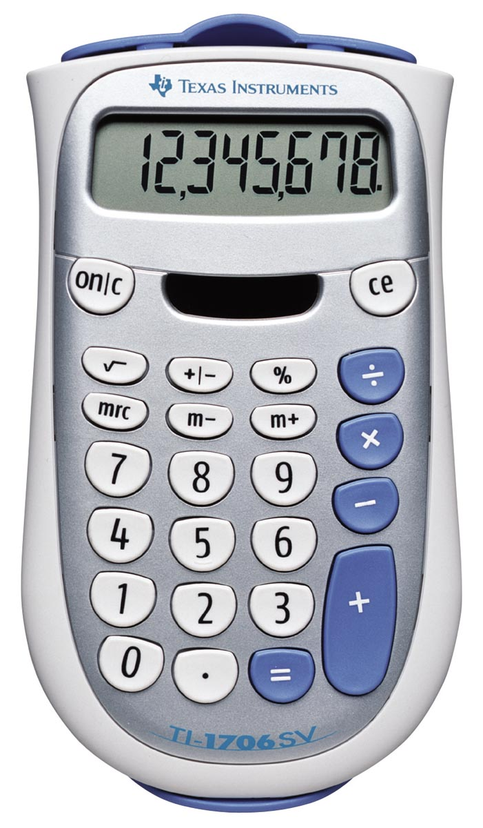 Rekenmachine TI-1706SV