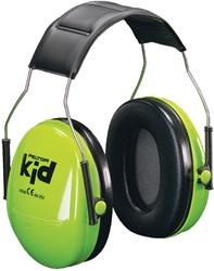 3M oorbeschermers Peltor Kid, geluidsdemping tot 98 dB, groen