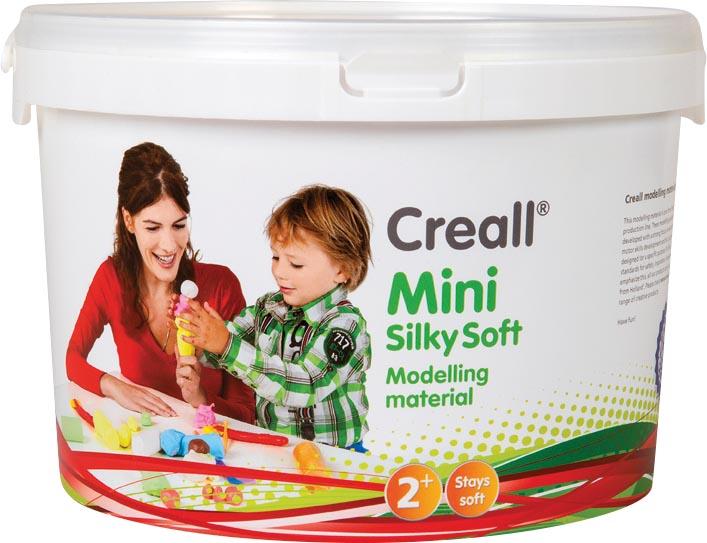 Creall boetseerpasta, pot van 1,10 kg met geassorteerde kleuren