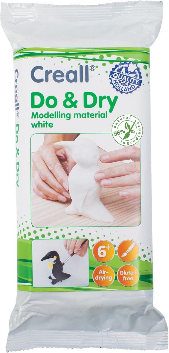 Creall Boetseerpasta Do & Dry wit, pak van 1 kg