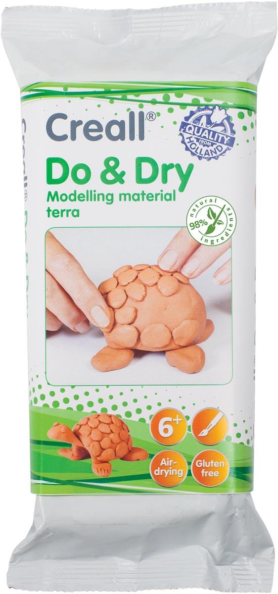 Creall Boetseerpasta Do & Dry terracotta, pak van 1 kg