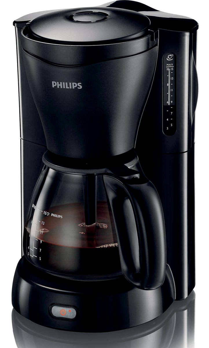 Philips koffiezetapparaat Viva 1,2 liter, zwart