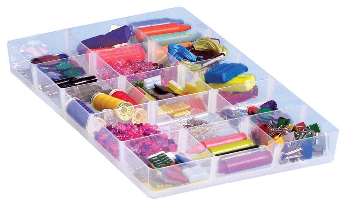 Really Useful Boxes accessoires voor opbergdozen hobby divider met 15 vakjes