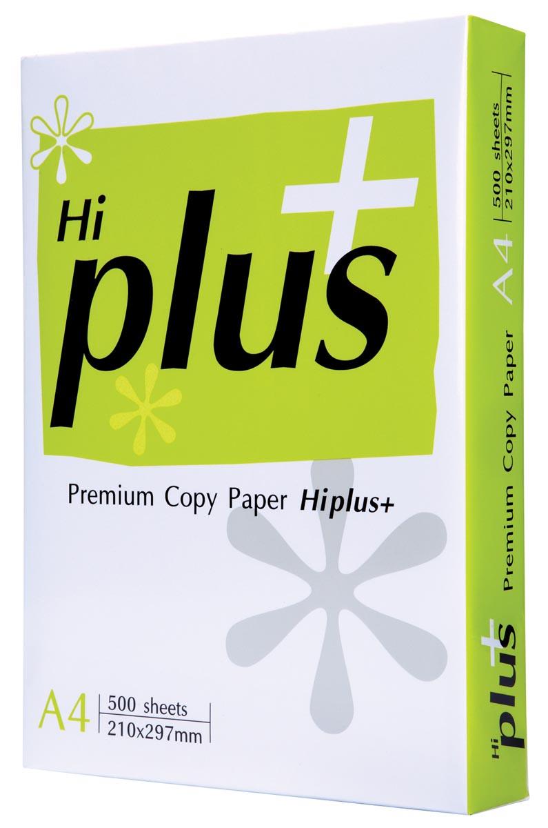 Double a paper HI+ KOPIEERPAPIER A4 75G 500V (HIPLUS)