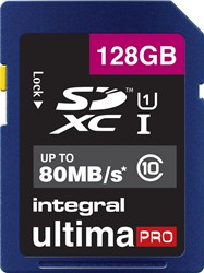 Integral GeheugenSDXC UP 128GB