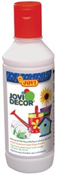 Jovi verf voor veelzijdig gebruik wit, flacon van 250 ml