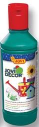 Jovi verf voor veelzijdig gebruik, flacon van 250 ml, donkergroen