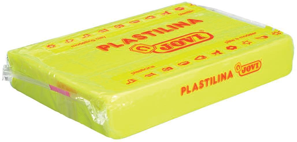 Jovi Boetseerpasta Plastilina geel