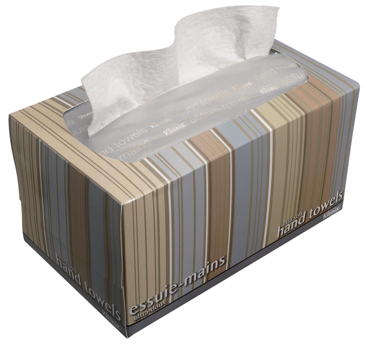 Kleenex papieren handdoeken Ultra Soft Pop-up, intergevouwen, 1-laags, 70 vellen, dispenserdoos