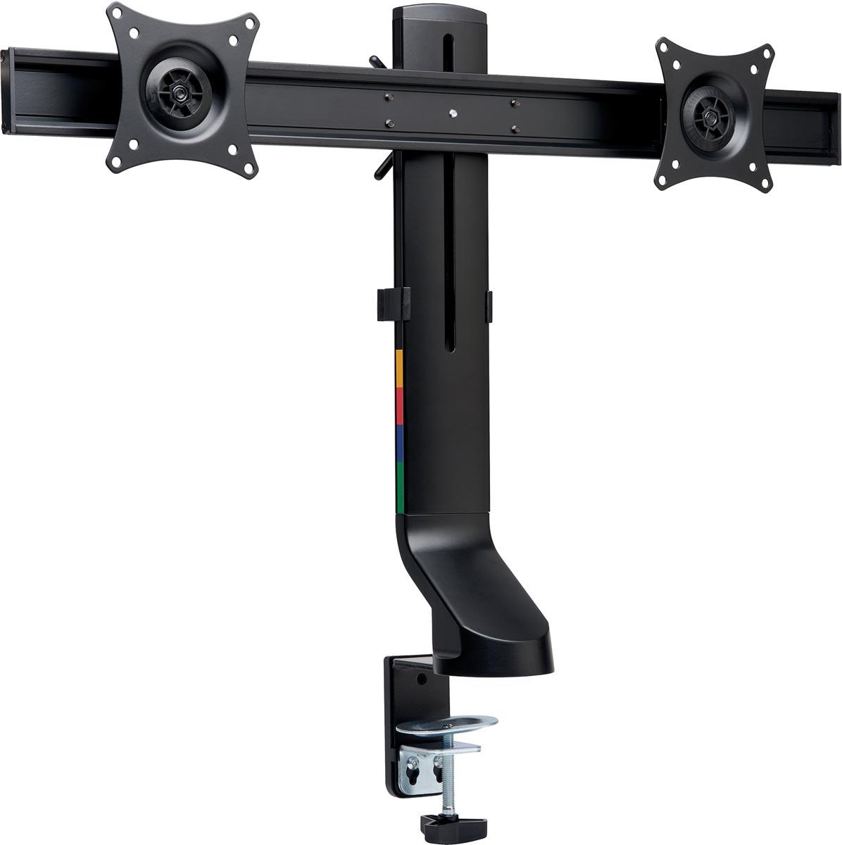 Kensington Smartfit compacte monitorarm, met uitschuifbare arm, dubbel