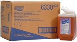 Kleenex navulling voor zeepdispenser Aquarius, parfum amber, flacon van 1 liter