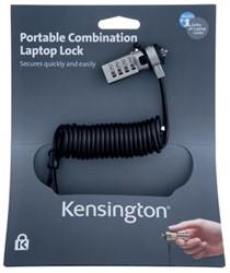 Kensington draagbaar laptopslot met cijfers