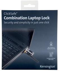 Kensington ClickSafe laptopslot met cijfers