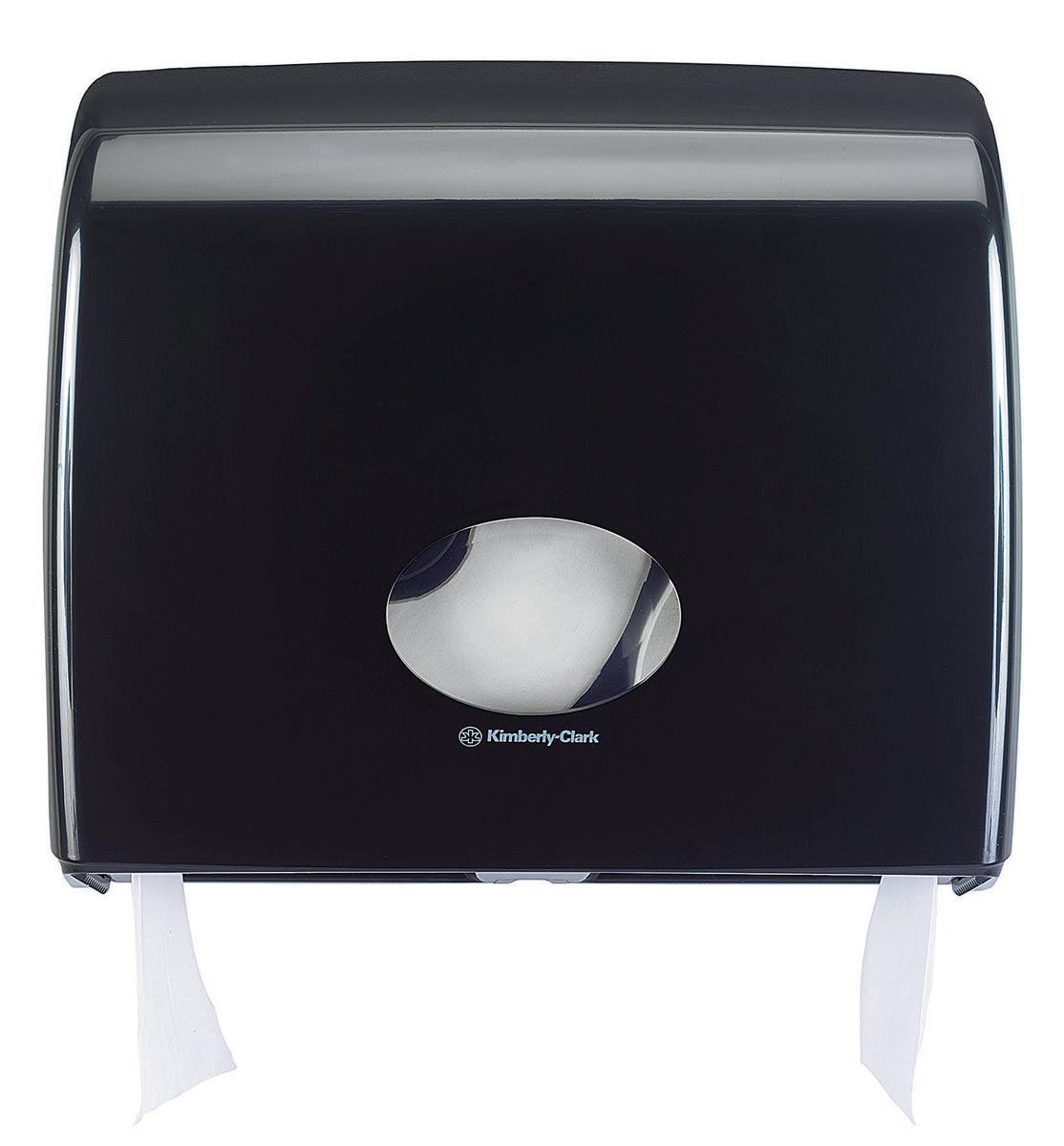 Kimberly Clark toiletpapierdispenser Aquarius Jumbo, zwart