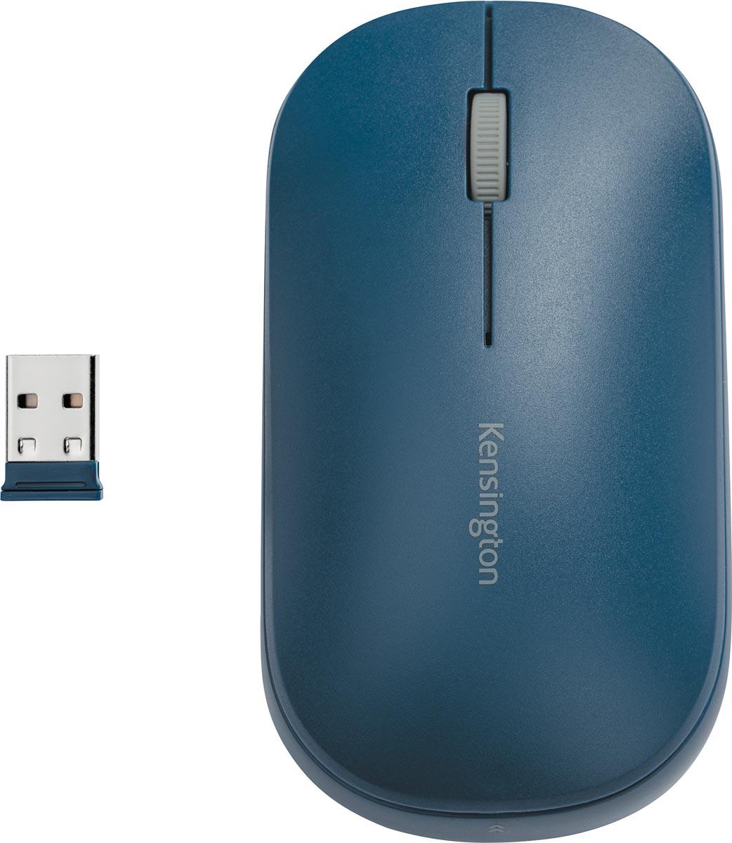 Kensington SureTrack Dual draadloze muis, blauw