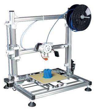 Perel 3D-printer zelfbouwpakket